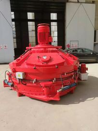 37kw Mixing Power Industrial Cement Mixer Electric Concrete Mixer 2400kgs Input Weight