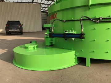 Green Color Glass Raw Material Mixer 2400kgs Input Weight Quick Mixing Speed