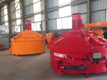 High Homogenization Industrial Cement Mixer Vertical Shaft Batch Steel Material