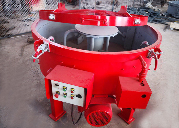 Industrial MT100 Type Cement Concrete Mixer Machine , Pan Type Concrete Mixer